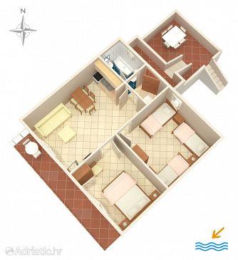 Apartment A-4099-a - Apartments Stara Novalja (Pag) - 4099