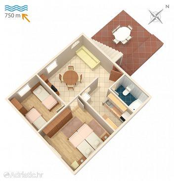 Apartment A-410-a - Apartments Njivice (Krk) - 410