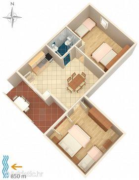 Apartment A-4117-c - Apartments Metajna (Pag) - 4117