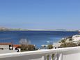 Terrace - view - Apartment A-4127-a - Apartments Metajna (Pag) - 4127
