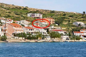 Obiekt Metajna (Pag) - Zakwaterowanie 4127 - Apartamenty z piaszczystą plażą.