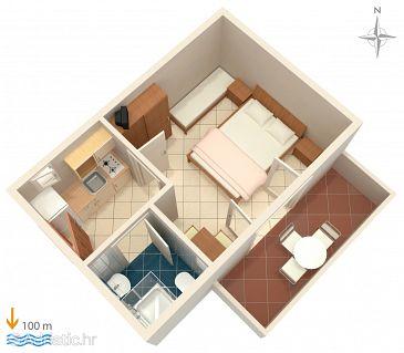 Apartment A-4130-d - Apartments Zubovići (Pag) - 4130