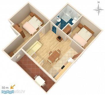 Apartment A-4146-b - Apartments Stara Novalja (Pag) - 4146