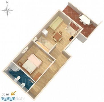 Apartment A-4146-f - Apartments Stara Novalja (Pag) - 4146