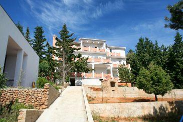 Property Stara Novalja (Pag) - Accommodation 4146 - Apartments near sea with pebble beach.