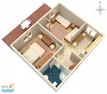 Apartment A-4149-a - Apartments Pag (Pag) - 4149