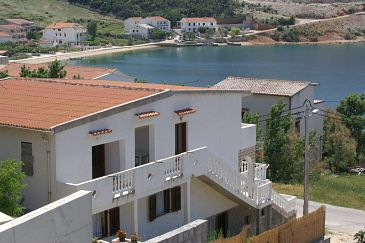 Metajna, Pag, Property 4150 - Apartments blizu mora with sandy beach.