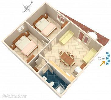 Apartment A-4168-a - Apartments Bilo (Primošten) - 4168