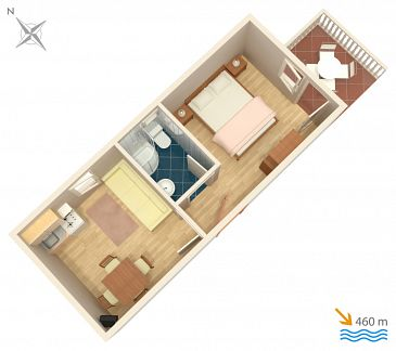 Apartment A-4172-a - Apartments Vodice (Vodice) - 4172