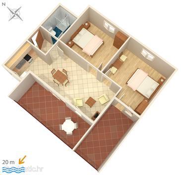 Apartament A-4173-a - Apartamenty Bilo (Primošten) - 4173