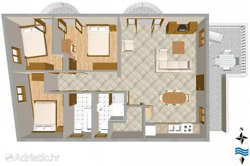 Apartment A-4174-a - Apartments Tribunj (Vodice) - 4174