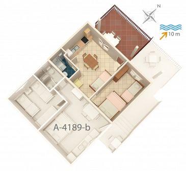 Apartament A-4189-a - Apartamenty Bilo (Primošten) - 4189