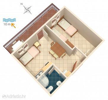 Apartment A-4189-d - Apartments Bilo (Primošten) - 4189