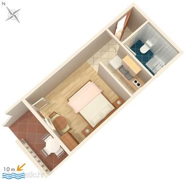 Studio flat AS-4197-a - Apartments Bibinje (Zadar) - 4197