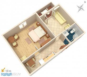 Apartment A-4198-c - Apartments Vodice (Vodice) - 4198