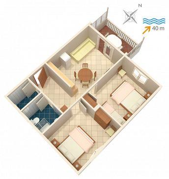 Apartament A-4202-a - Apartamenty Bilo (Primošten) - 4202