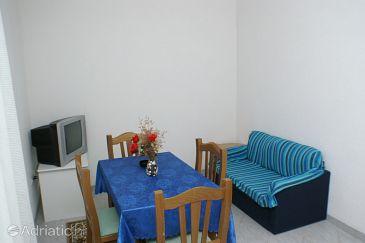 Zablaće, Dining room u smještaju tipa apartment, dostupna klima, dopusteni kucni ljubimci i WIFI.