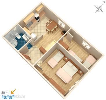 Apartment A-4220-b - Apartments Zablaće (Šibenik) - 4220