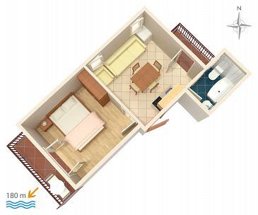 Apartament A-4247-c - Apartamenty Bilo (Primošten) - 4247