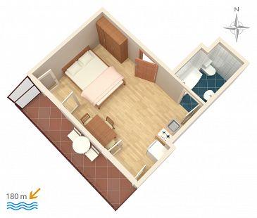Studio AS-4247-a - Apartamenty Bilo (Primošten) - 4247