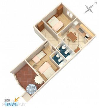 Apartment A-4254-a - Apartments Grebaštica (Šibenik) - 4254