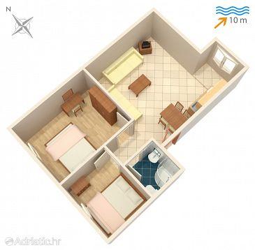Apartment A-4255-a - Apartments Rogoznica (Rogoznica) - 4255