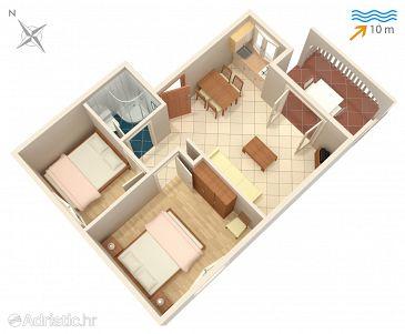 Apartment A-4255-e - Apartments Rogoznica (Rogoznica) - 4255