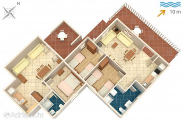 House K-4260 - Vacation Rentals Ražanj (Rogoznica) - 4260