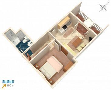 Apartment A-4263-b - Apartments Rogoznica (Rogoznica) - 4263