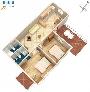 Apartment A-4269-a - Apartments Kanica (Rogoznica) - 4269
