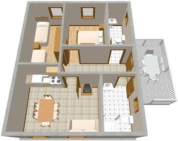 Apartment A-427-c - Apartments Vantačići (Krk) - 427