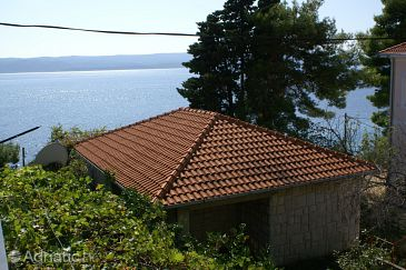 Property Pisak (Omiš) - Accommodation 4280 - Vacation Rentals near sea with pebble beach.