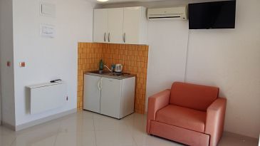 Pisak, Kitchen u smještaju tipa studio-apartment, WIFI.
