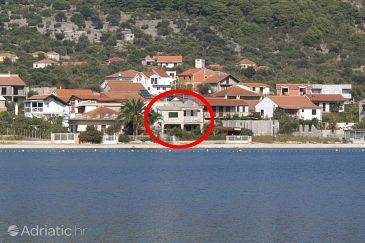 Vinišće, Trogir, Property 4288 - Apartments blizu mora with pebble beach.
