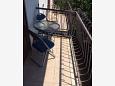 Sveti Filip i Jakov, Balcony 2 u smještaju tipa apartment, s pogledom na more i WIFI.