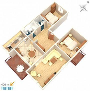 Apartament A-4300-a - Apartamenty Biograd na Moru (Biograd) - 4300