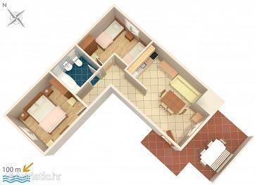 Apartment A-4313-c - Apartments Rogoznica (Rogoznica) - 4313
