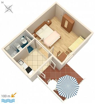 Apartment A-4313-d - Apartments Rogoznica (Rogoznica) - 4313