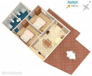 Apartment A-4320-b - Apartments Arbanija (Čiovo) - 4320