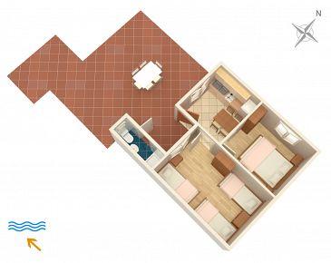 Apartament A-433-a - Apartamenty Lavdara (Dugi otok - Lavdara) - 433