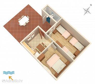 Apartment A-433-b - Apartments Lavdara (Dugi otok - Lavdara) - 433