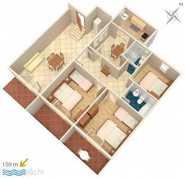 Apartment A-4332-a - Apartments Podgora (Makarska) - 4332