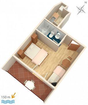 Studio AS-4332-a - Apartamenty Podgora (Makarska) - 4332