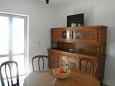 Zavalatica, Jadalnia w zakwaterowaniu typu apartment, WIFI.