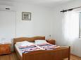 Zavalatica, Sypialnia w zakwaterowaniu typu apartment, dostupna klima i WIFI.