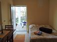 Veli Rat, Bedroom u smještaju tipa studio-apartment.