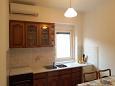 Veli Rat, Kitchen u smještaju tipa apartment, dostupna klima i WIFI.