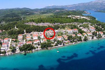 Lumbarda, Korčula, Property 4383 - Apartments blizu mora.
