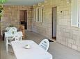 Terrace - Apartment A-4386-a - Apartments Uvala Rasohatica (Korčula) - 4386