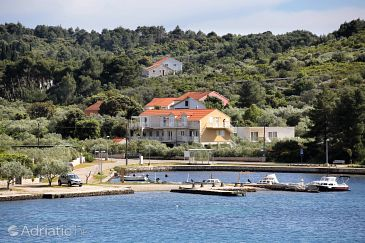 Property Lumbarda (Korčula) - Accommodation 4393 - Apartments near sea with pebble beach.